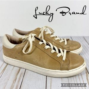 Lucky Brand Lotus 3 Leather Sneaker 8.5M